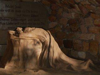 겟세마네바위에서의 예수님
