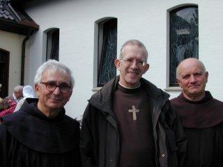 이탈리아에서 방문한 프란치스코 수도회원들